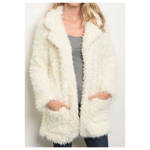 Size S LAST 1 Feel the Fur open jacket